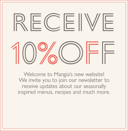 Join our Email List and save 10% on Your Next Order