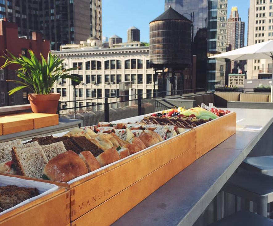 catering roof top