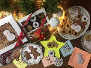 holiday cookies from Mangia