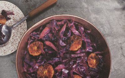 Sauteed Red Cabbage with Caramelized Oranges