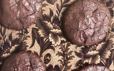 Flourless Chocolate Caramel Cookies