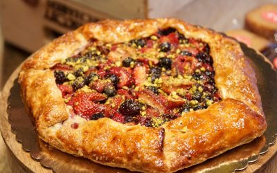 Mixed Berry Galette Recipe