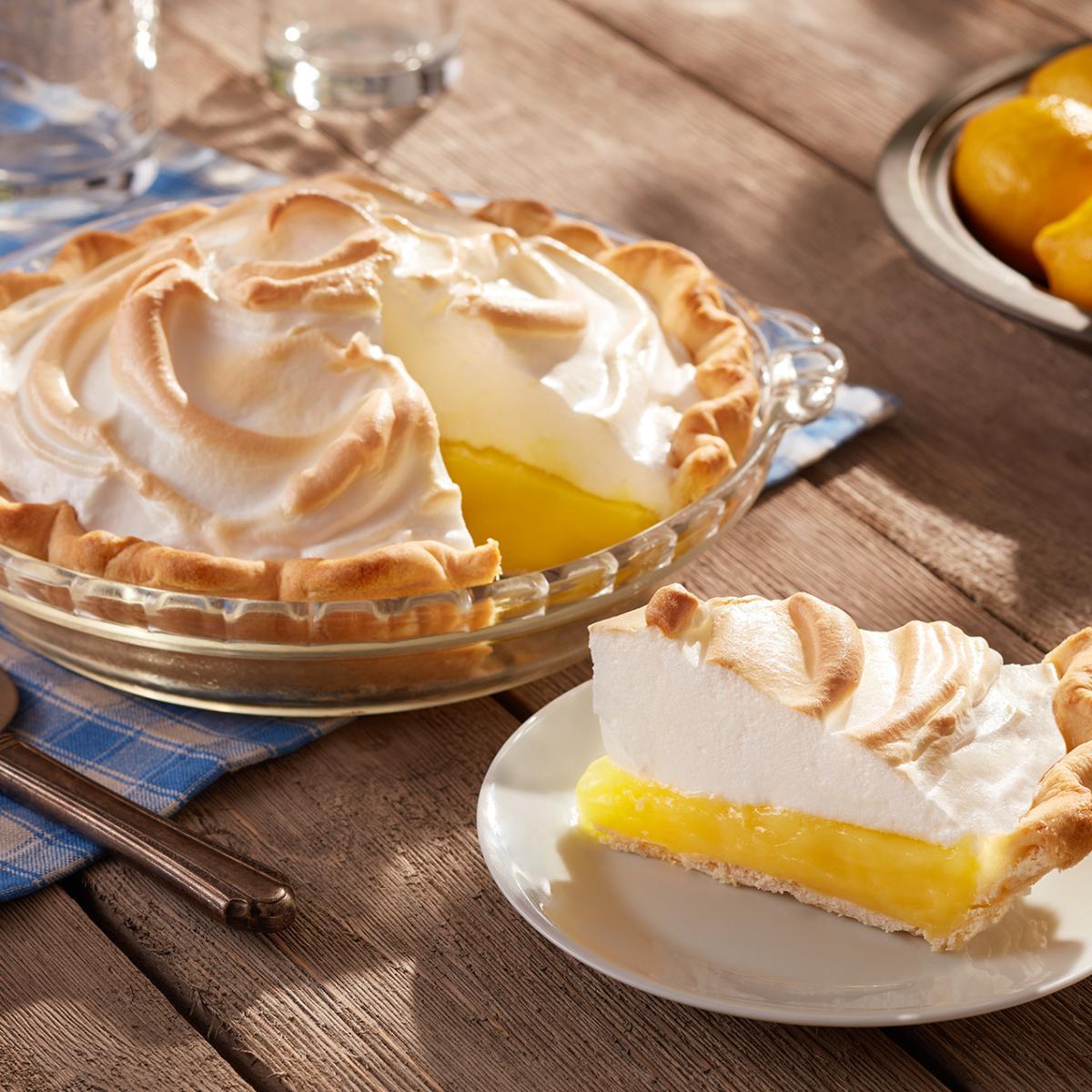 Lemon Meringues Tarts
