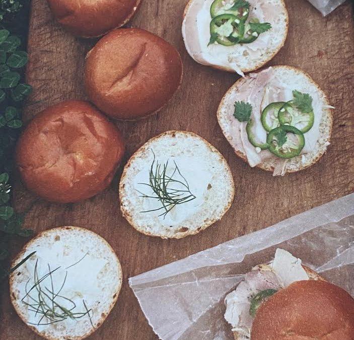 Mangia Mini Brioche: The perfect Summer Sandwiches