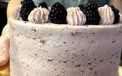 Blackberry Lemon Cake Recipe