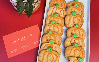 Mangia Pumpkin Spice Sugar Cookies